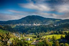 Ausblick vom Sigmundsberg auf Mariazell