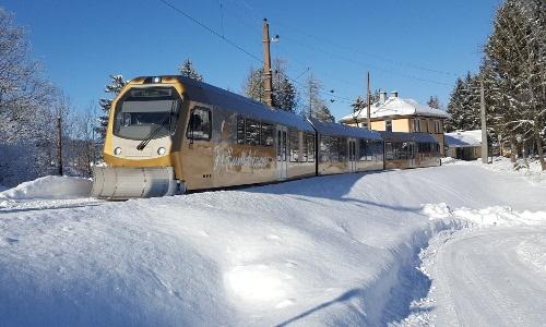 Mariazellerbahn Winter, © Hackner