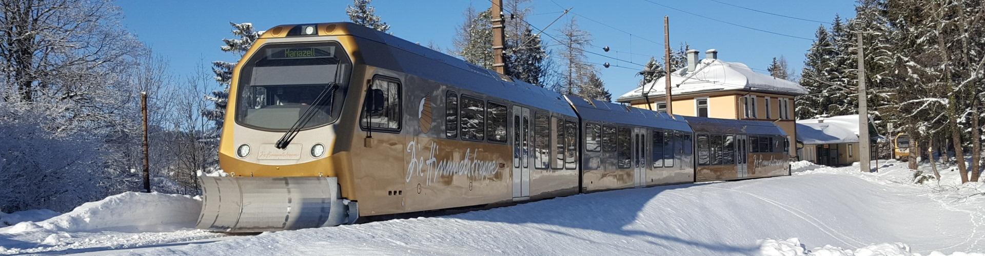 Mariazellerbahn, © NÖVOG/Hackner