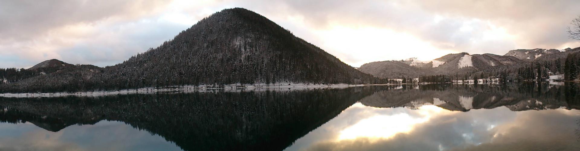 Erlaufsee im Winter, © TVB Mariazeller Land
