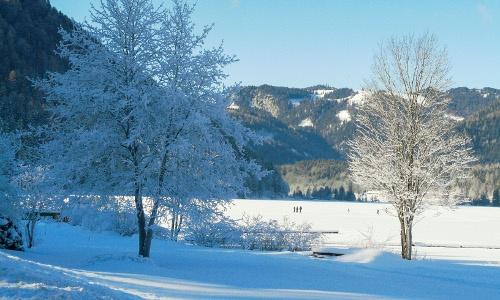Erlaufsee Winter, © www.mariazell.blog