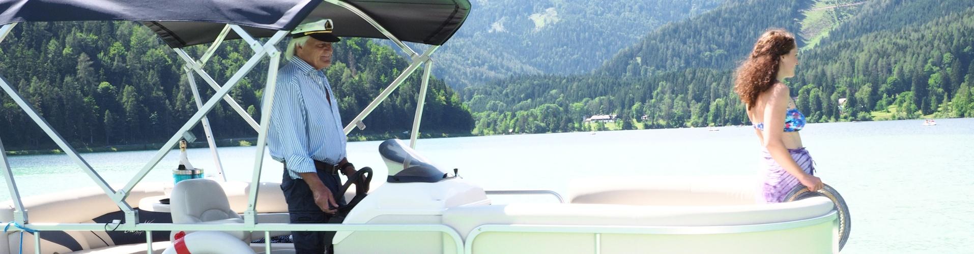 Erlaufsee Partyboot