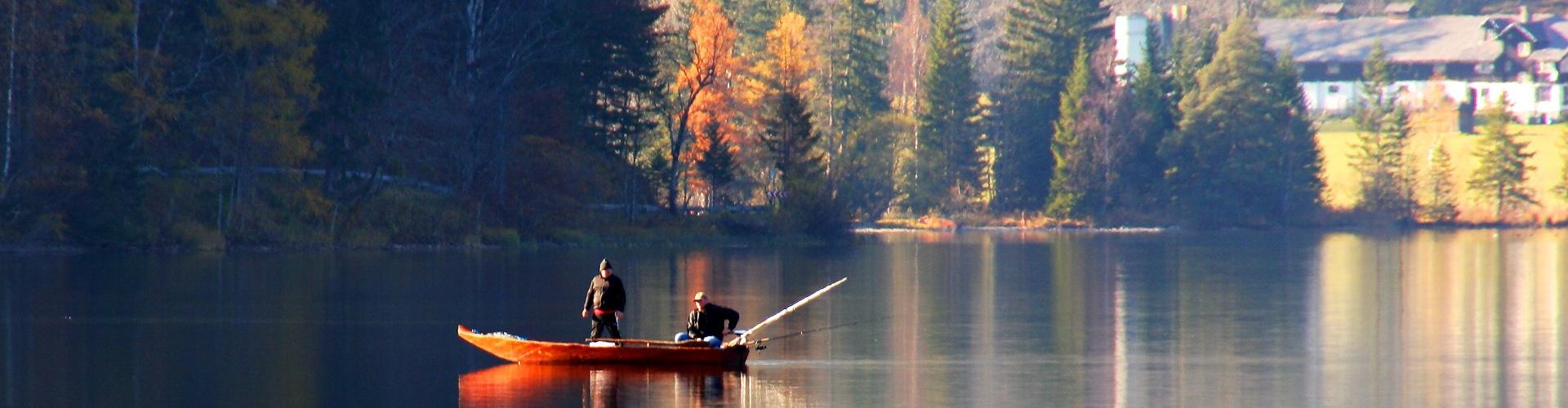 Fischen am Erlaufsee, © www.mariazell.blog