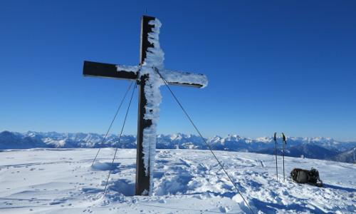 Gipfelkreuz am Hochstadl, © Franz Fidi