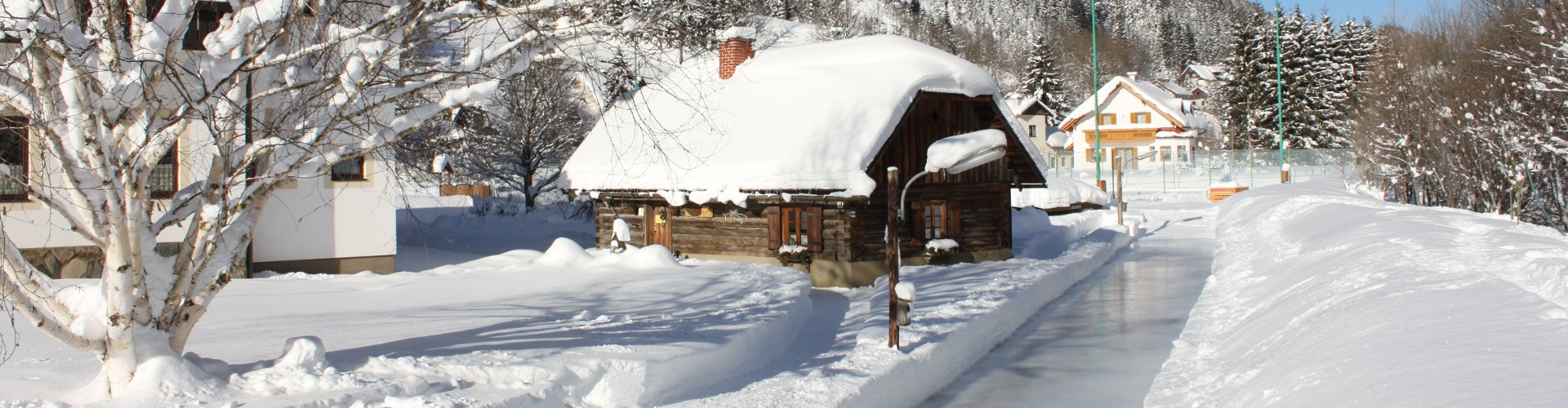 Eisstockbahn beim Gasthof Kohlhofer