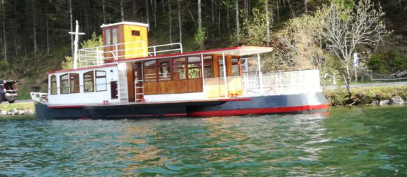 Ausflugsschiff Christina am Erlaufsee