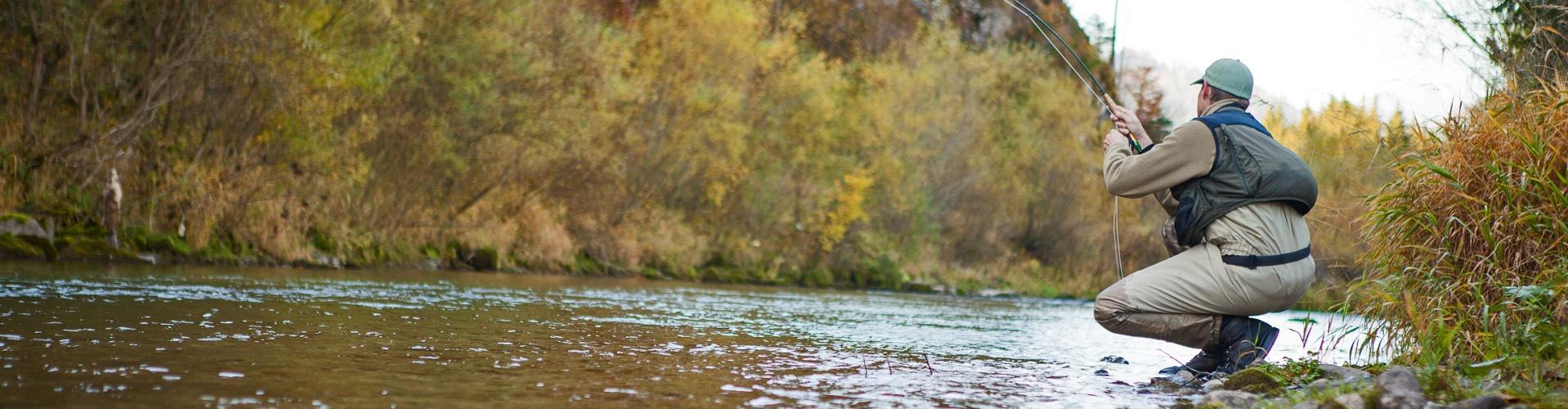 Fliegenfischen Herbst