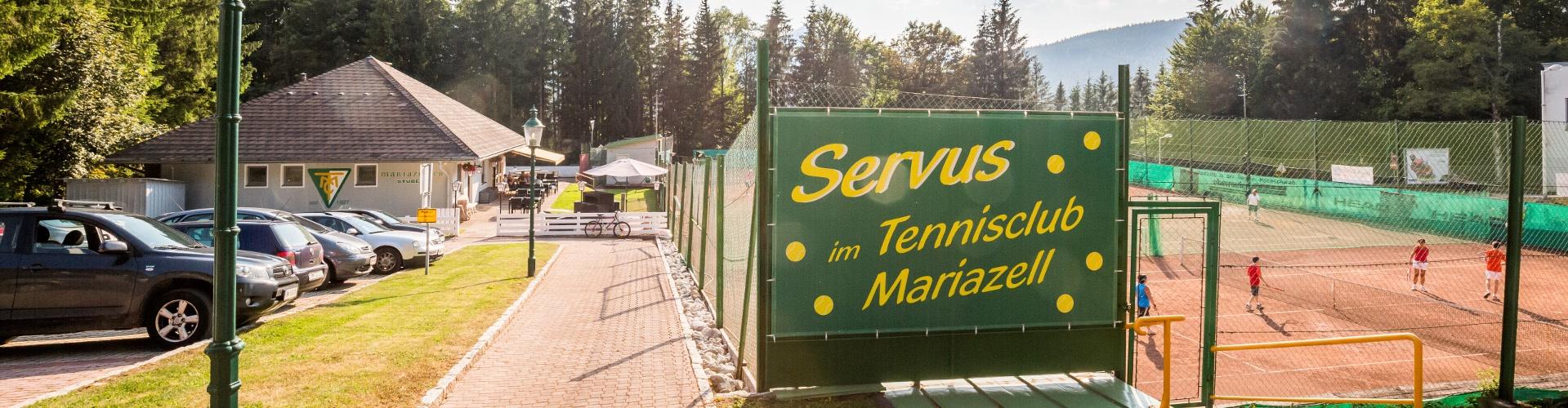 Tennisplatz, © UTC Mariazell, Foto: Fred Lindmoser