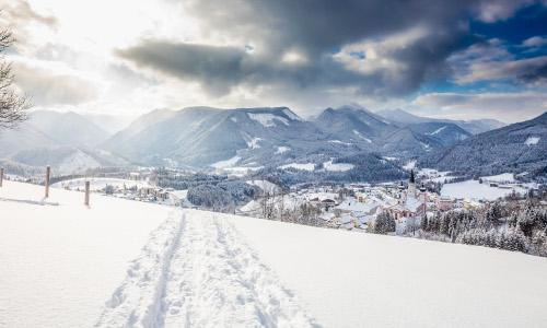 Winterlandschaft, © www.mariazell.blog