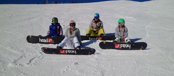 Snowboardunterricht © Peter Haginger