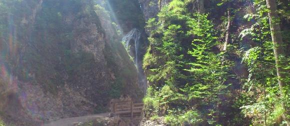 Brücke Marienwasserfall