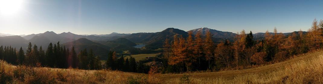 Herbstpanorama, © TVB Mariazeller Land/BD