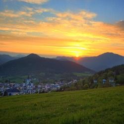 Blick auf Mariazell, ©  www.mariazell.blog