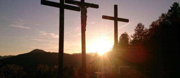 Kalvarienberg Sonnenuntergang ©TVB Mariazeller Land/Digruber