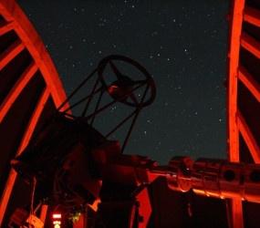 Kuppel rot bei Nacht, © Günther Eder