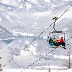 Sessellift mit Ausblick auf Erlaufsee, © www.mariazell.blog
