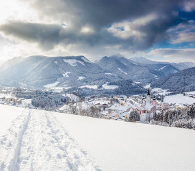 Winterlandschaft, © www.mariazell.blog