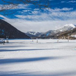Winterlandschaft Erlaufsee, © www.mariazell.blog