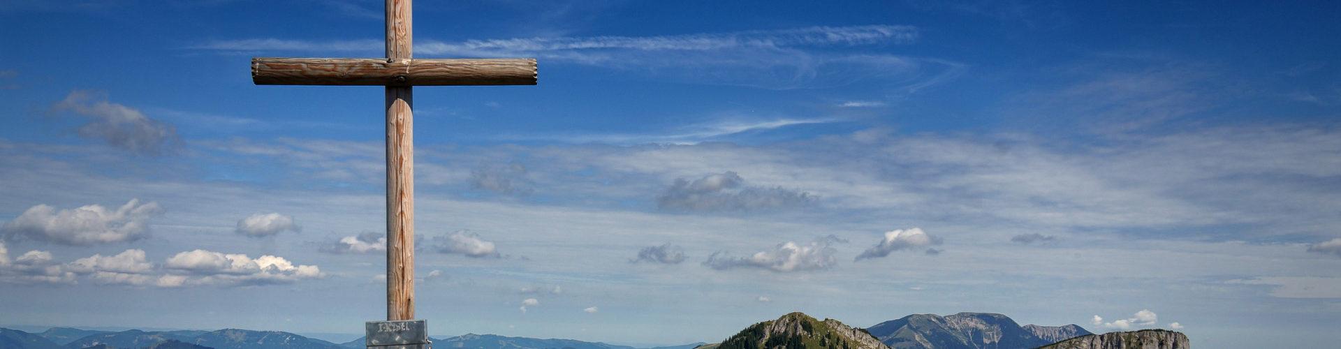 Gipfelkreuz am Königskogel, © TVB Mariazeller Land / Fred Lindmoser
