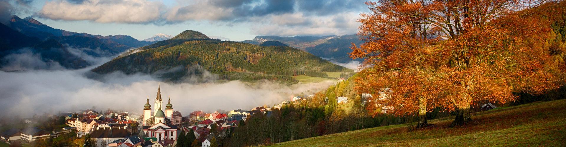 Herbst im Mariazeller Land, © www.mariazell.blog