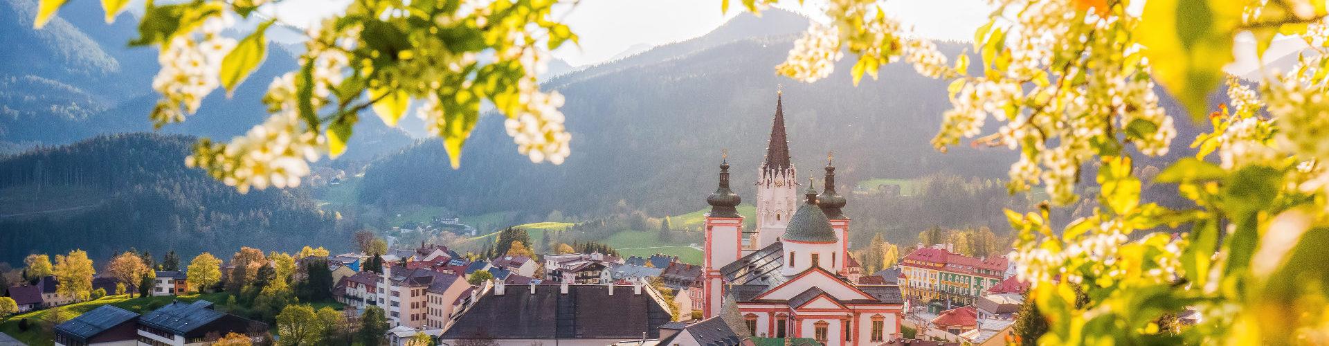 Blick auf Mariazell, © www.mariazell.blog/Fotograf: Fred Lindmoser