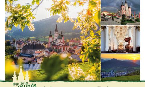"""Postkarte """"gsundsWiedersehn"""" Basilika"""