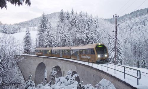 Mariazellerbahn-Himmelstreppe, © NÖVOG / Heussler