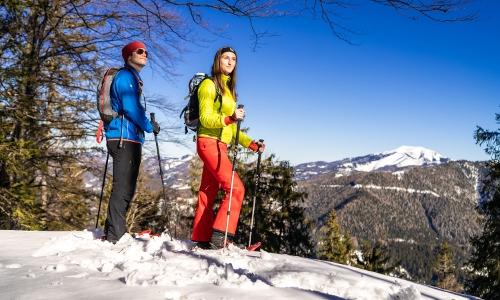 Schneeschuhwandern, © Mariazeller Bürgeralpe / Rudy Dellinger