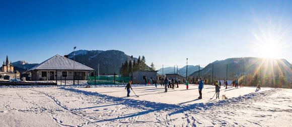 Eislaufplatz Mariazell, © TVB Mariazeller Land / Fred Lindmoser