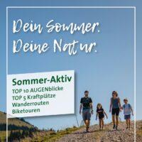 Sommer-Aktiv Broschüre Titelbild